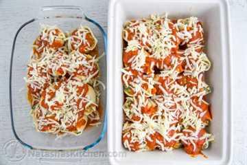 Conchas de Pasta Rellena