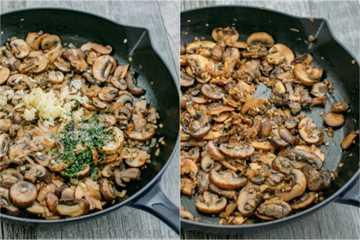 Una receta fácil y excelente para el filet mignon. La salsa de vino de hongos es deliciosa y le dará muchas solicitudes de recetas. Perfecto para cualquier ocasión.