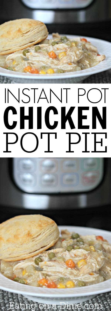 Pastel de pollo fácil! Le encantará esta receta instantánea de pastel de pollo con olla. Es la mejor receta de pastel de marihuana lista en menos de una hora.