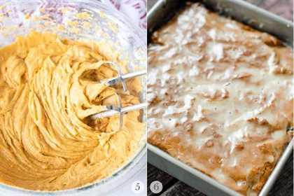barra de calabaza receta pasos collage de fotos 3