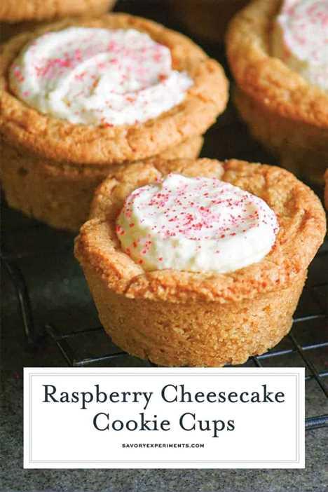 Tazas de galletas de azúcar para Pinterest