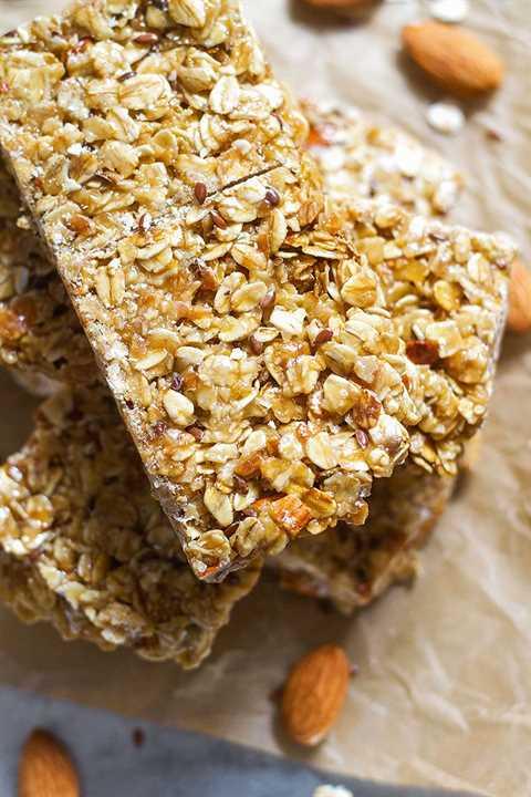como hacer barras de granola caseras