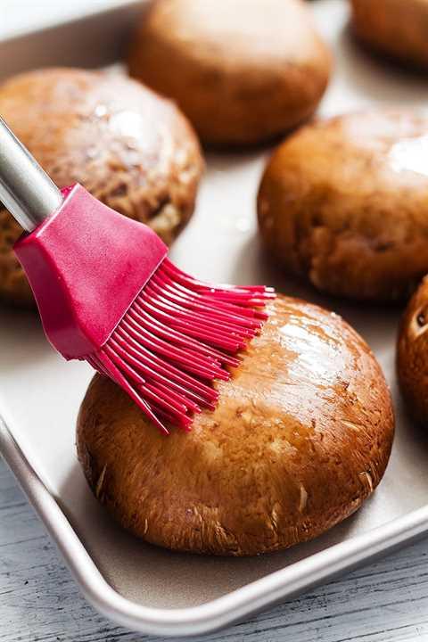 receta fácil para champiñones rellenos