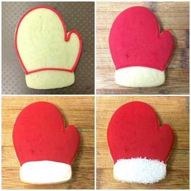 Cómo hacer galletas mitón