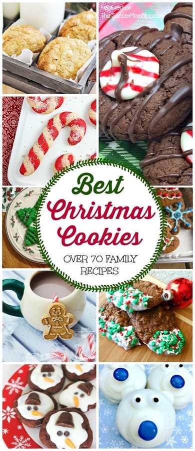Una ENORME colección de las mejores galletas navideñas de nuestra comida favorita y bloggers familiares. ¡Recetas familiares secretas, galletas para niños, sin gluten y más!