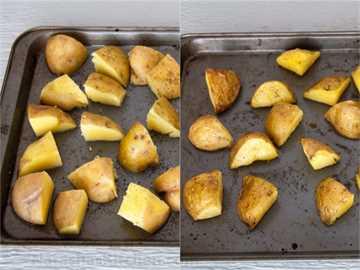 Patatas asadas al horno crujientes-1