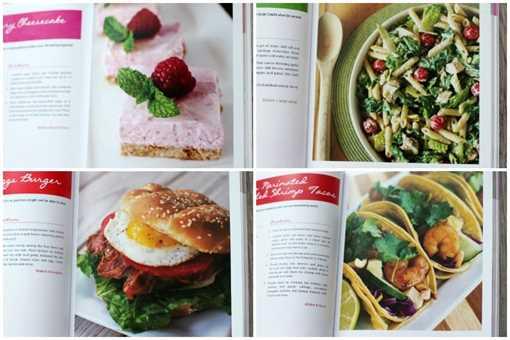 Libro de cocina de Allison - Muestra
