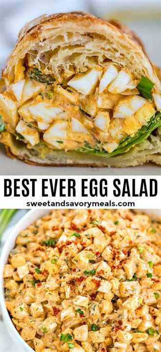 La mejor receta de ensalada de huevo