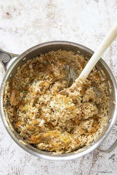 arroz con cebolla francesa en maceta