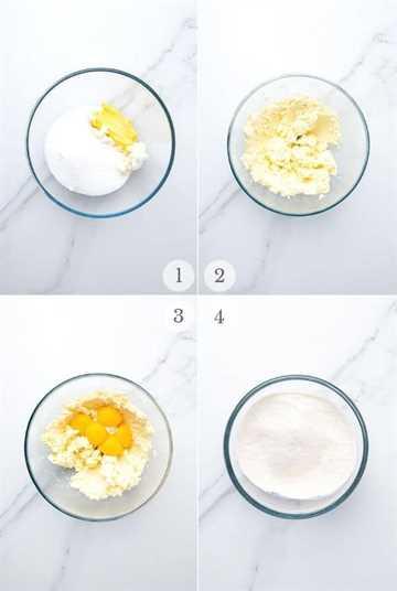 Pastel de crema italiana receta pasos collage 1