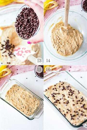 Receta de pan de banana con chispas de chocolate pasos fotos 4
