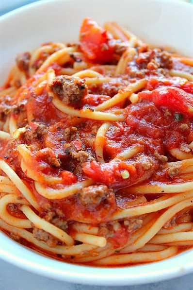 Instant Pot Spaghetti 3 Instant Pot Spaghetti Recipe