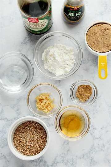 Ingredientes de la Salsa Teriyaki Salsa Teriyaki Casera