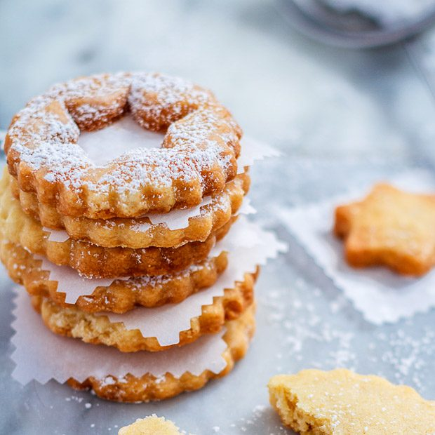 butter cookies icing sugar