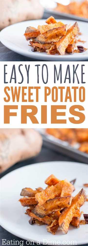 Hacer batatas fritas no tiene que ser difícil. Haga esta receta de papas fritas de camote al horno para la receta perfecta de guarnición.