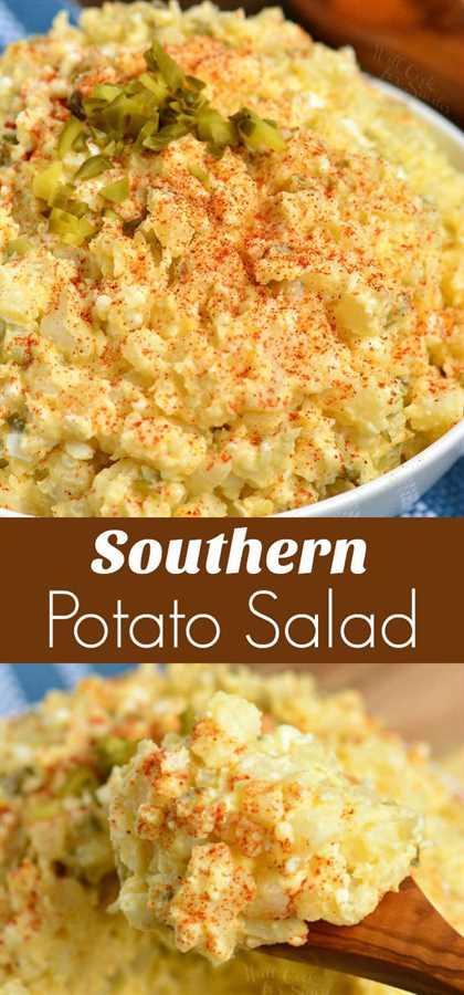 Receta de ensalada de patata sureña