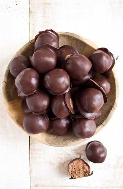 dieta cetosisbomba bombas de grasa chocolate mantequilla de maní