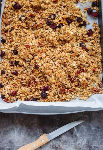 Cómo hacer tu propia granola