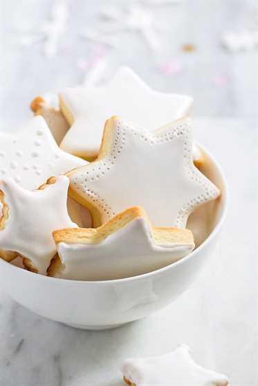 galletas estrella de navidad