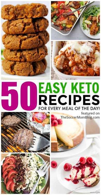 ENORME colección de recetas fáciles de keto que lo mantendrán en el camino durante todo el mes, desde el desayuno hasta la cena y el postre Marque esta página para nuevas recetas agregadas a menudo!