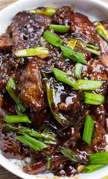 Carne mongol (PF Changs copycat). ¡Tan fácil de hacer y sabe incluso mejor que el auténtico!