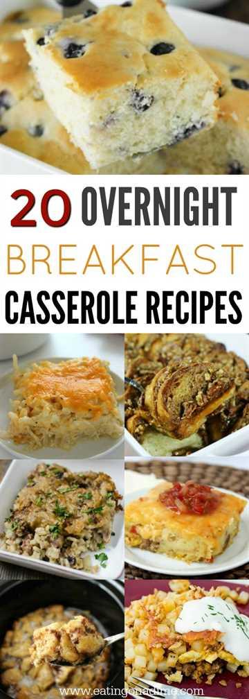 Te encantarán estas recetas de cazuelas para el desayuno durante la noche. 20 prepara con anticipación recetas de guisos de desayuno para que las mañanas sean muy fáciles. ¡Son tan deliciosos!