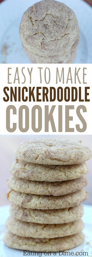 Cómo hacer snickerdoodles: pruebe esta receta fácil de snickerdoodle donde lo hacemos fácil usando una mezcla de pastel. ¡Estos snickerdoodles todavía saben muy bien!