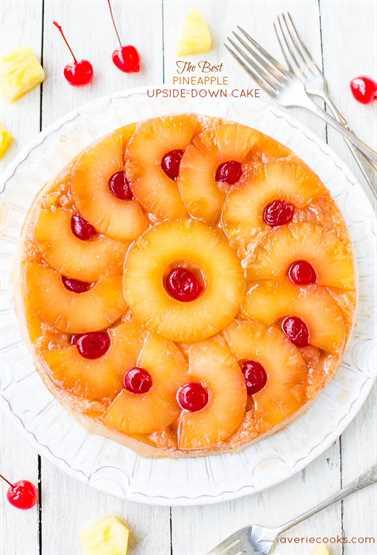 El mejor pastel invertido de piña: ¡tan suave, húmedo y realmente es el mejor! ¡Un pastel alegre y feliz que seguramente hará sonreír a cualquiera!