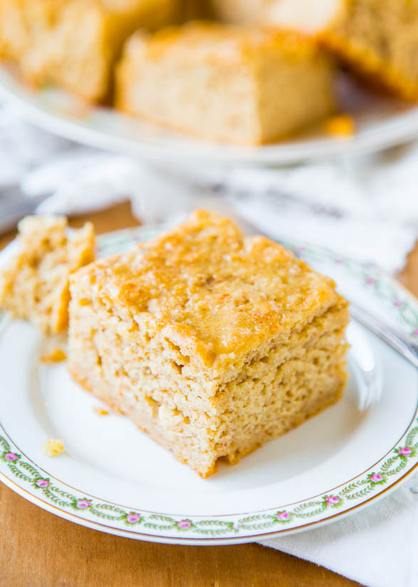 Buttery Parmesan Sour Cream Bread Without Kneading - Ready in under 30 minutes - Recipe at averiecooks.com