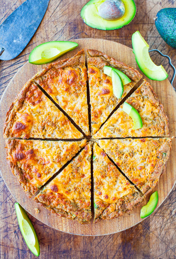30 Minute Avocado Cheese Skillet Pizza Bread (Whole Wheat and Vegan with Vegan Cheese) - Just like cheese bread that meets a 30 minute avocado skillet pizza!