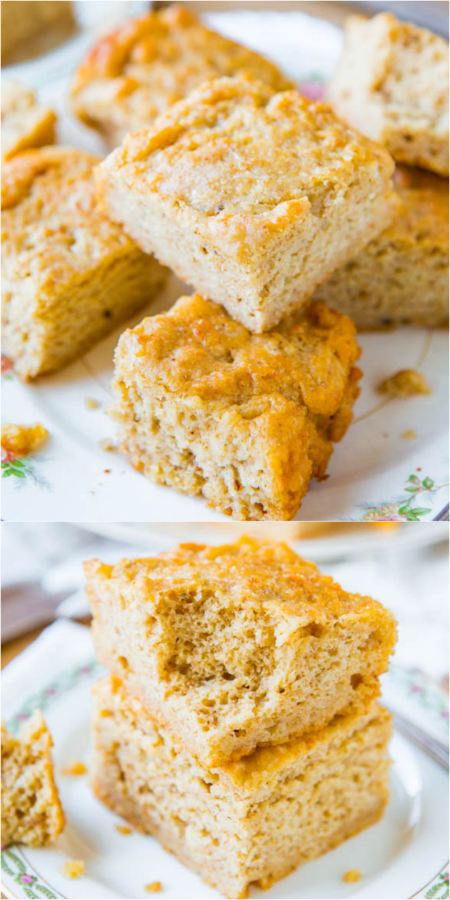 Butter and sour cream parmesan bread with easy to knead butter: nothing to knead or roll and without yeast. Who can say no to bread laden with butter, sour cream, and Parmesan cheese!