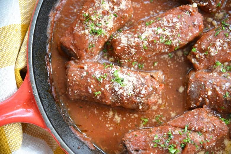 Cerca de carne rellena italiana