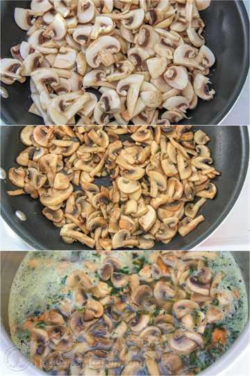 Sopa rusa de champiñones y papas-7