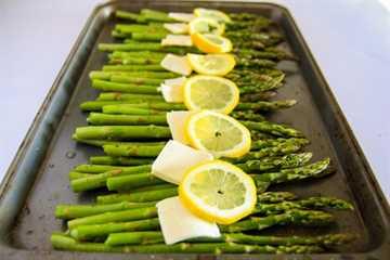 espárragos al horno con limón 5
