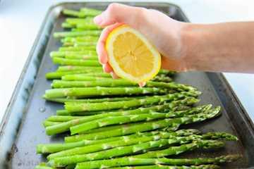 espárragos al horno con limón 4