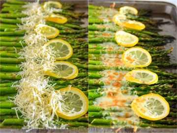 espárragos al horno con limón 6