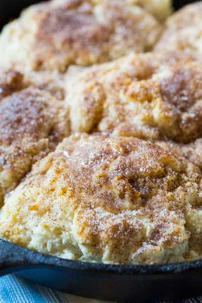 Sartén Snickerdoodle Biscuits