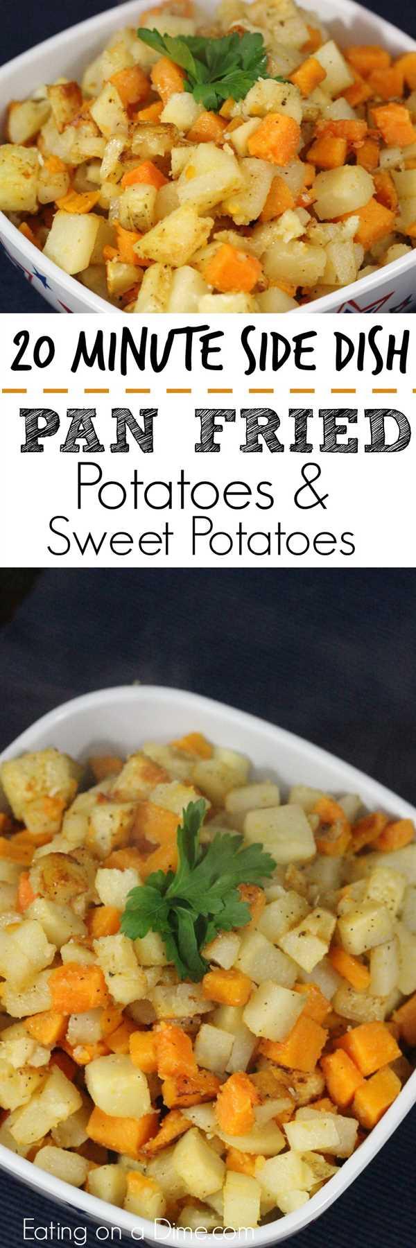 fácil de hacer papas fritas y batatas