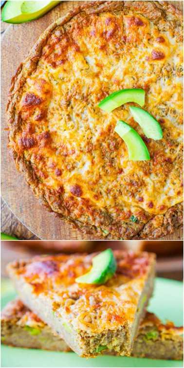 Pan de pizza de sartén de aguacate con queso de 30 minutos (trigo integral y vegano con queso vegano) - ¡Al igual que el pan de queso que cumple con una pizza de sartén de 30 minutos con aguacate!