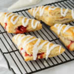 Super Easy Cherry Turnovers