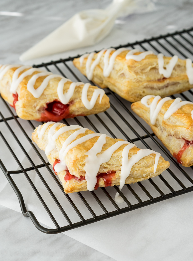 Super Easy Cherry Turnovers!