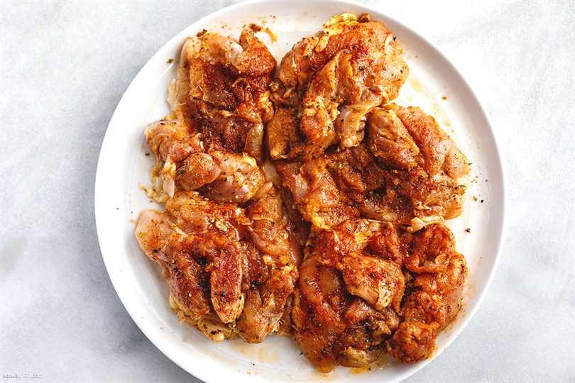 Receta de sartén de fideos de pollo con ajo y mantequilla de limón y calabacín 2