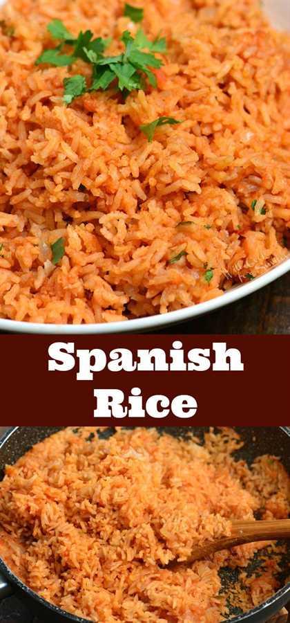 Arroz español (también llamado arroz mexicano)