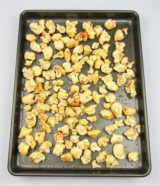 coliflor asada en sartén