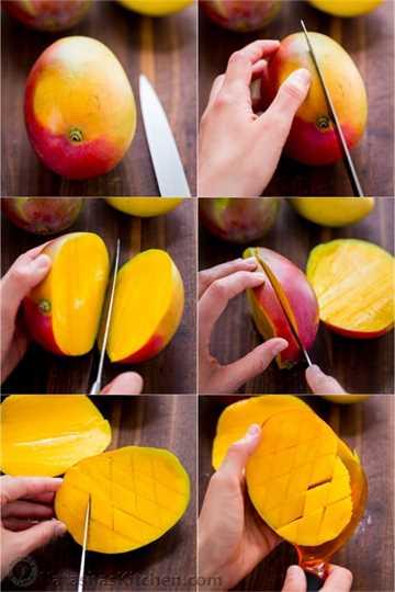 Cómo cortar un mango, Cómo quitar una semilla de mango, Cómo cortar un mango, Pastel de mango, Recetas de mango