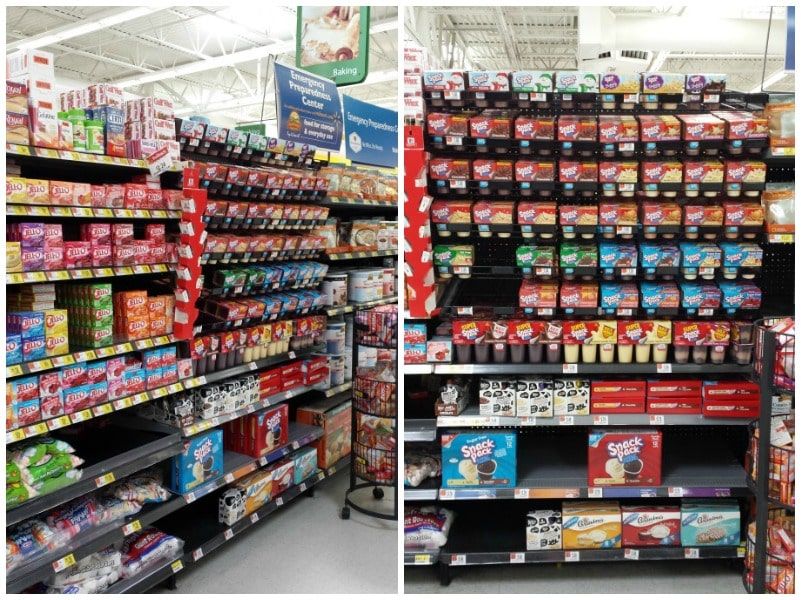 Snack Pack Pudding Cups en Walmart