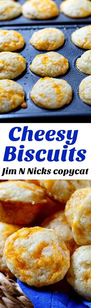 Imitación de galletas con queso de Jim 'n Nick