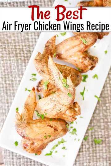 Las recetas de la freidora con aire son fáciles de hacer y resultan crujientes y deliciosas. Aprende a hacer varios tipos diferentes de sabrosas alitas de pollo.
