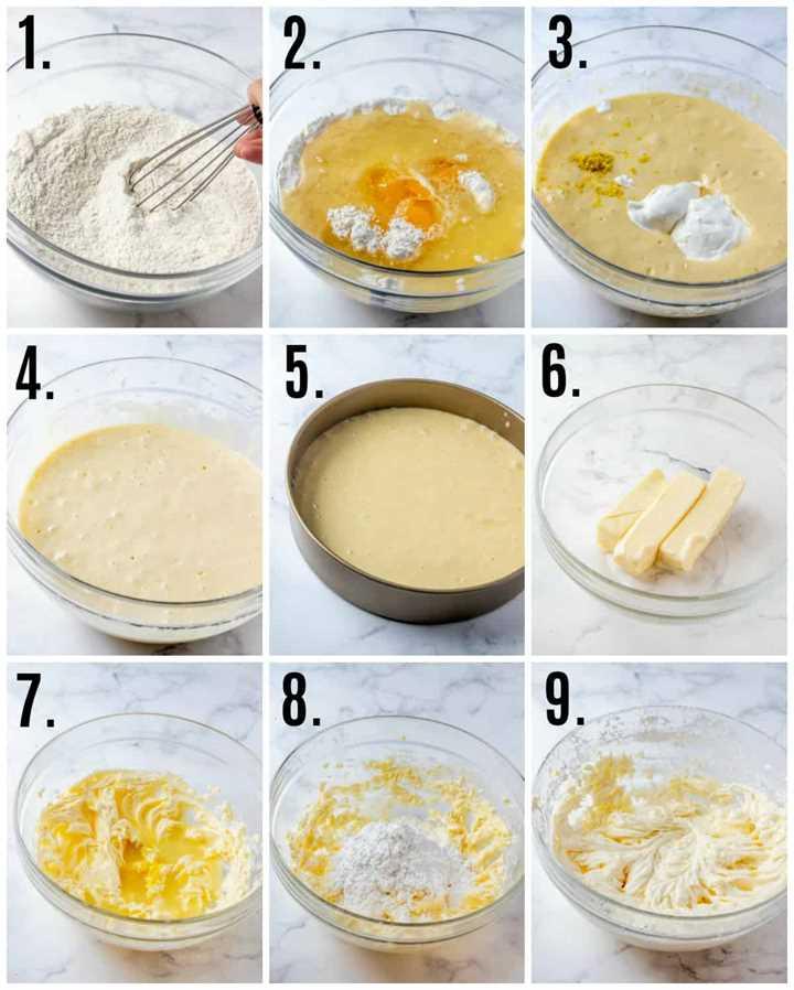 Fotos paso a paso sobre cómo hacer Lemon Layer Cake