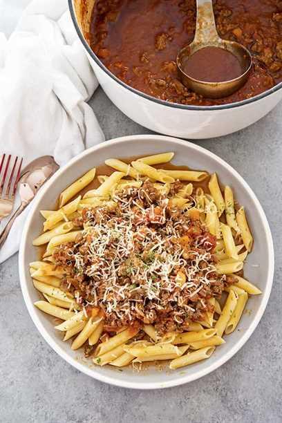 receta boloñesa